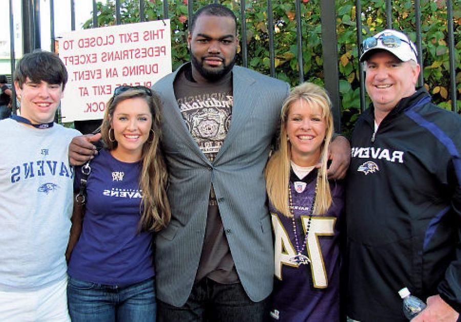 Real blind side family photos