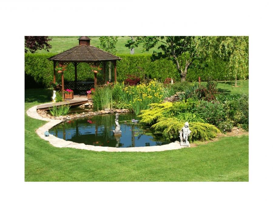 Photo decoration bassin exterieur - Installer un spa dans son jardin ...