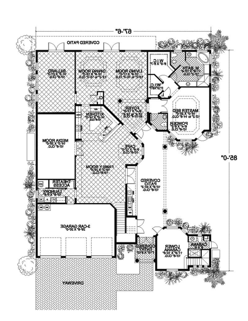 House plans caribbean photos for Carribean house plans