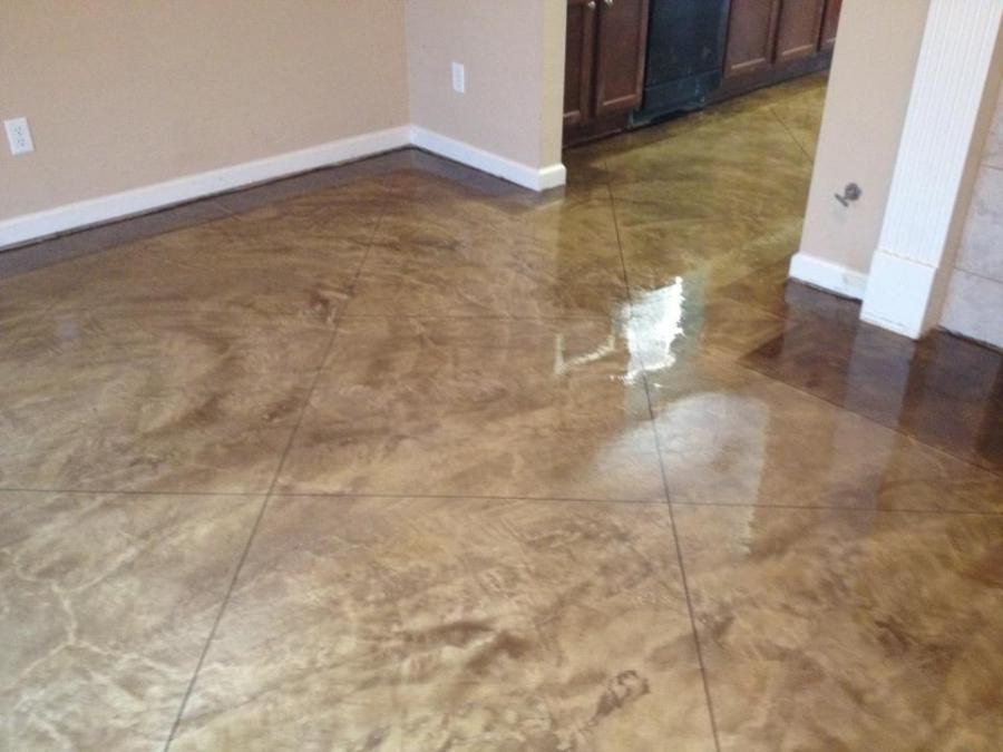 Scored Concrete Flooring : Scored concrete floors photos