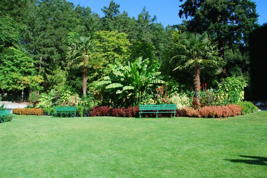 Mediterranean Garden near the parking lot of Butchart Gardens