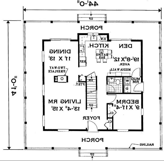 House Plans Porches Photos
