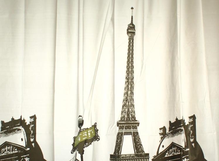 Paris Photo Shower Curtain