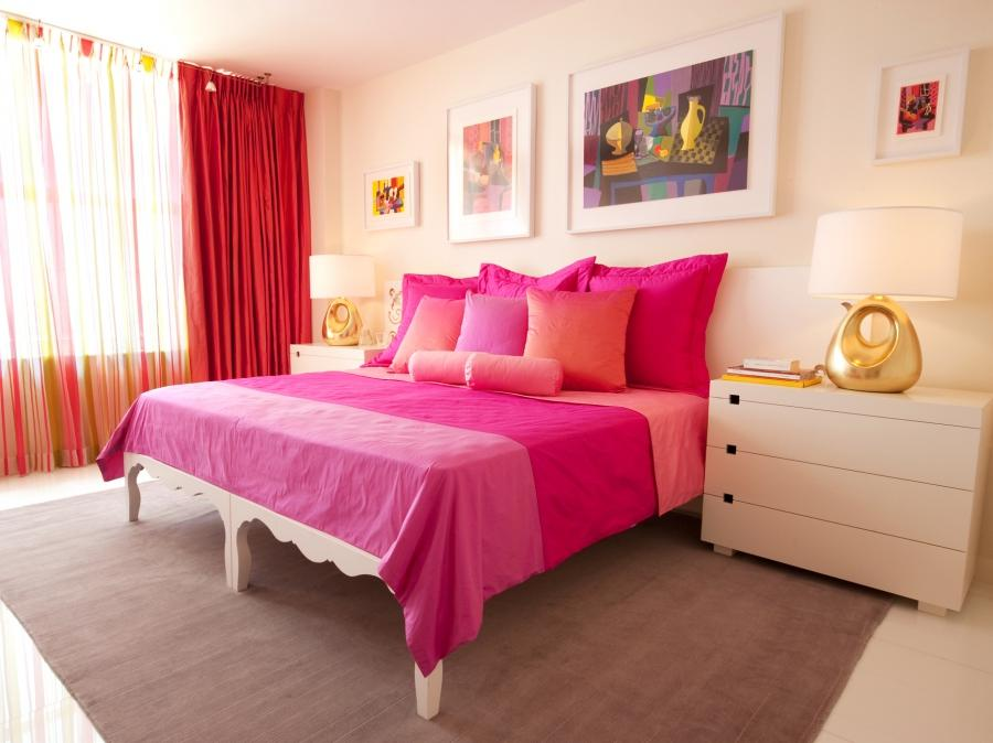 Photos of pink and purple bedrooms for Purple and pink bedroom ideas