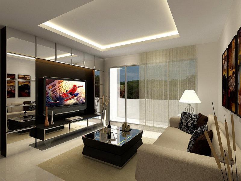 living room design photo malaysia