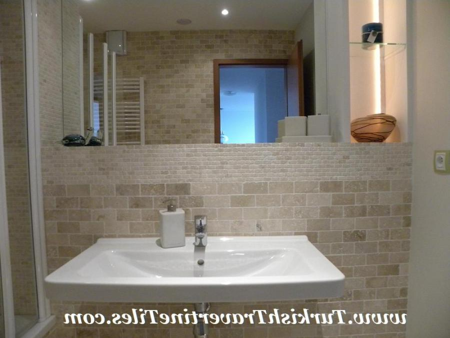 Travertine bathroom pictures and photos