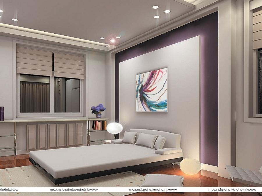 Interior Exterior Plan | White bedroom with sleek lines
