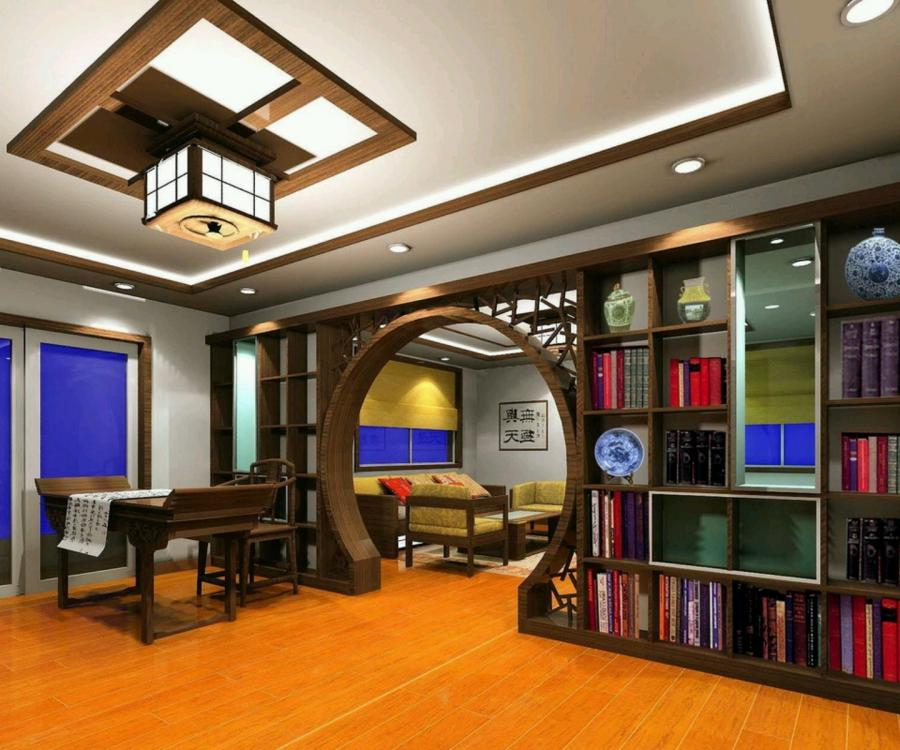 study design ideas - design spaces classic study room interior...