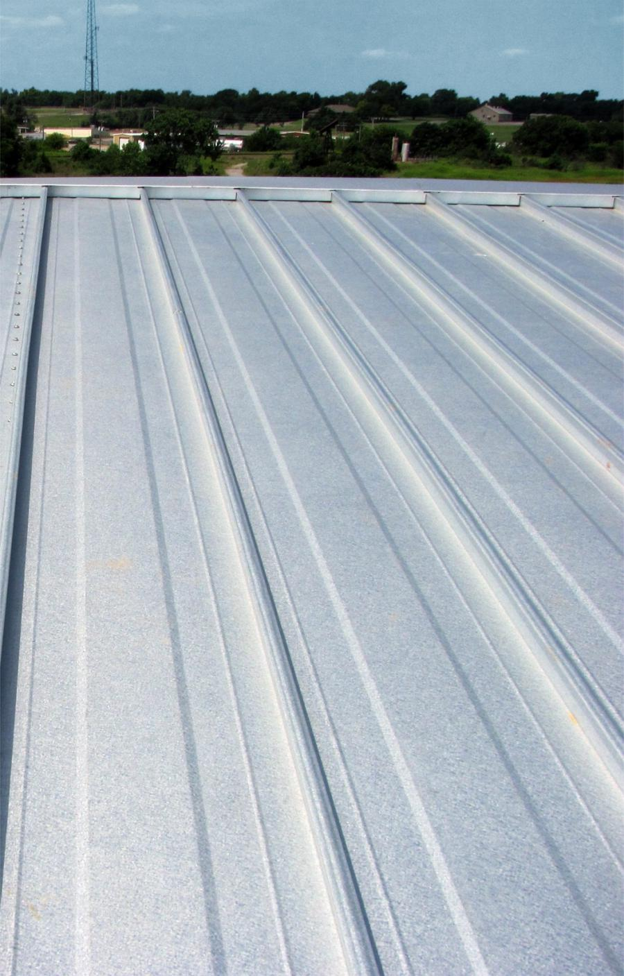 Metal Roof Oil Canning Photo