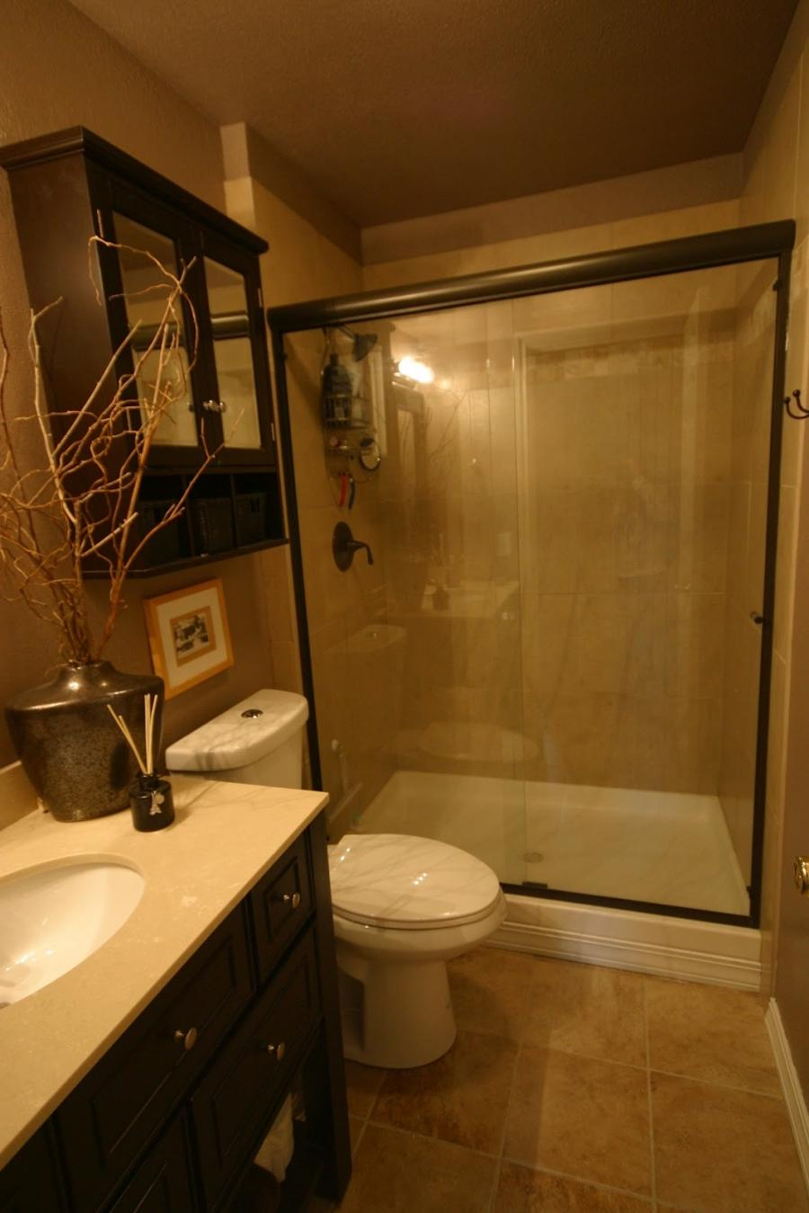 Small bathroom remodel before and after photos Cheap bathroom remodel before and after