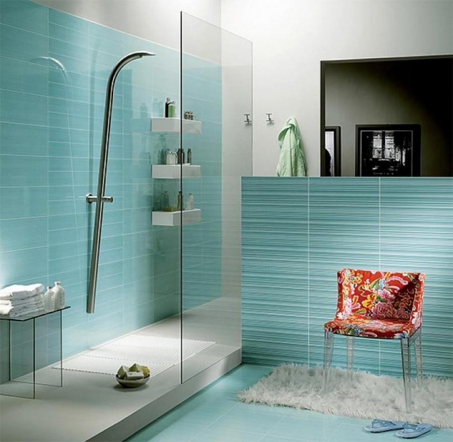 Photo bathroom tiles