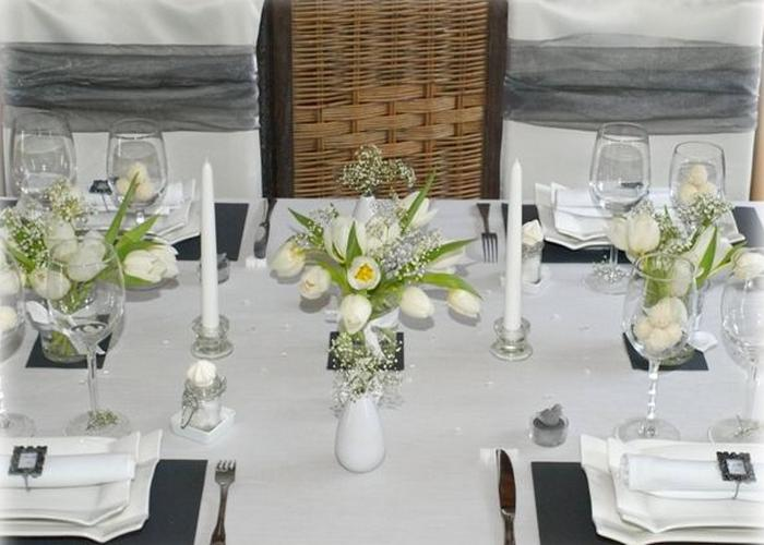 Decoration de table de mariage photo - Modele decoration mariage ...
