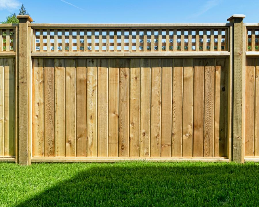 Privacy fence wood fences home illusions vinyl fence for Make your own fence
