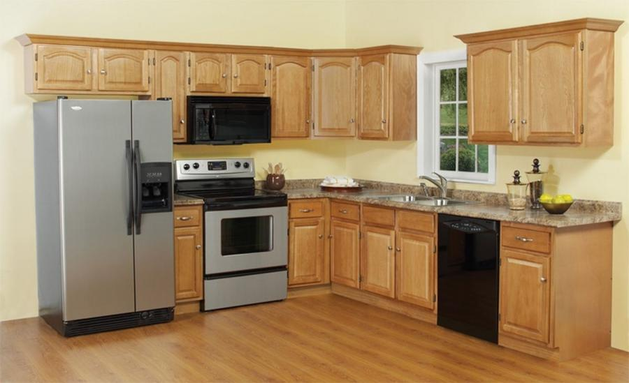 Home Depot In Stock Cabinets Kitchen Cabinet Display In 2009