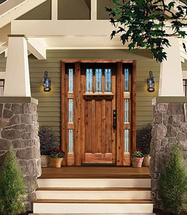 Grand Entrance - Stained Glass - Craftsman Style - 3232AT