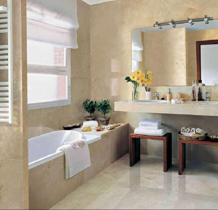 Simple Concept For Modern Small Bathroom Color Ideas