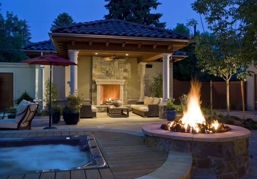 Backyard Living Source : Outdoor Living Spaces ColoradoLifescape  Lifescape source