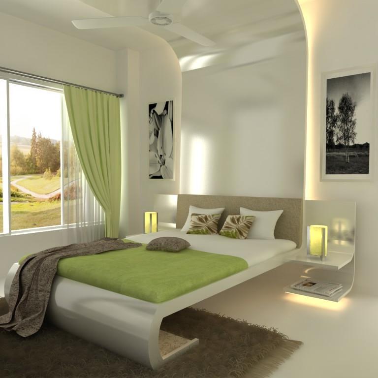 Interior design photos of bedrooms in mumbai for Bedroom designs mumbai