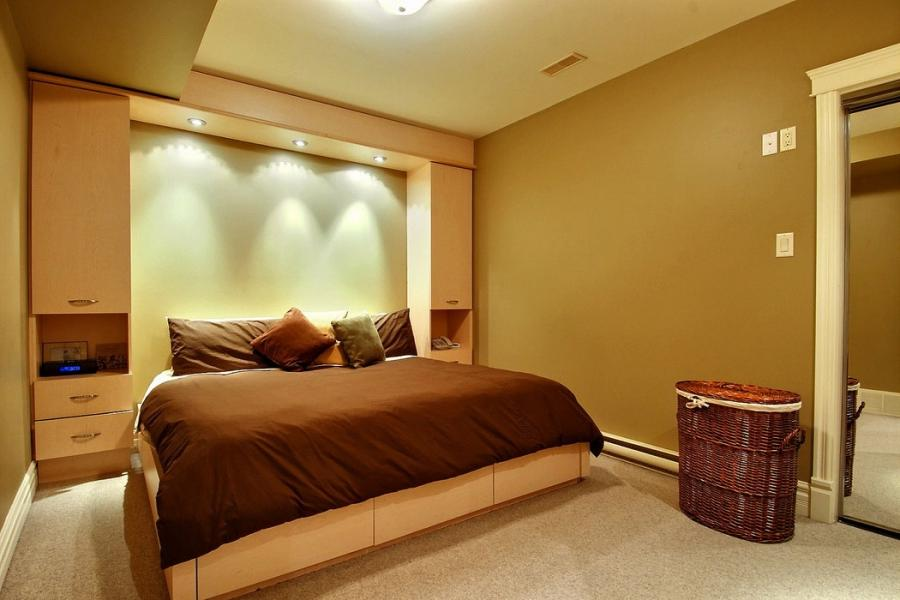 photos of basement bedrooms