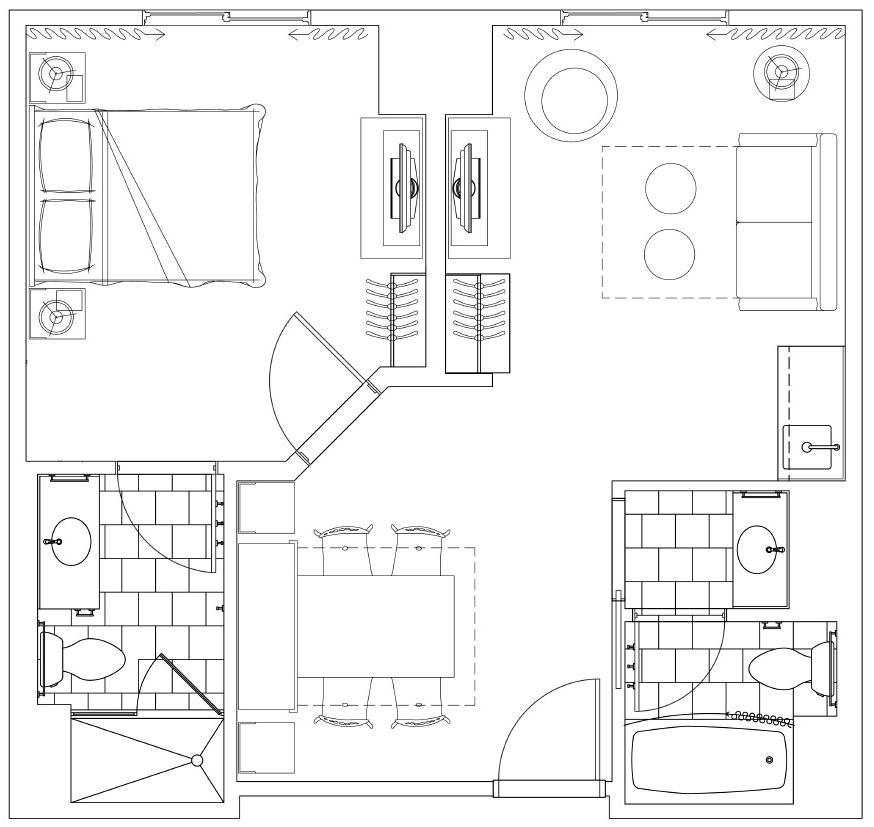 art of animation cars family suite floor plan of free