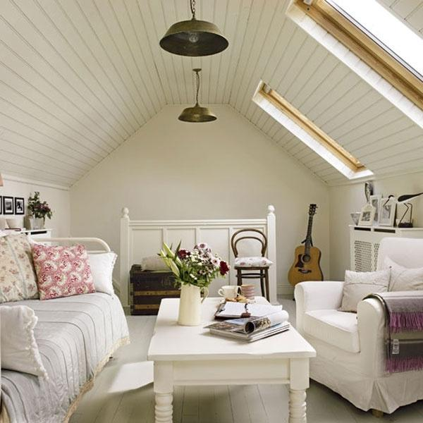 A woman cave in the attic!