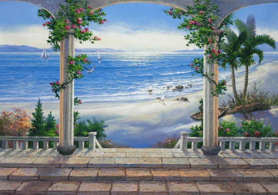 Digital photo wallpaper mural for Digital wall mural