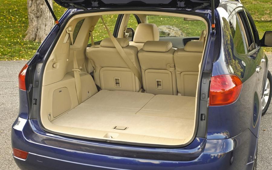 Subaru Tribeca Interior Photos