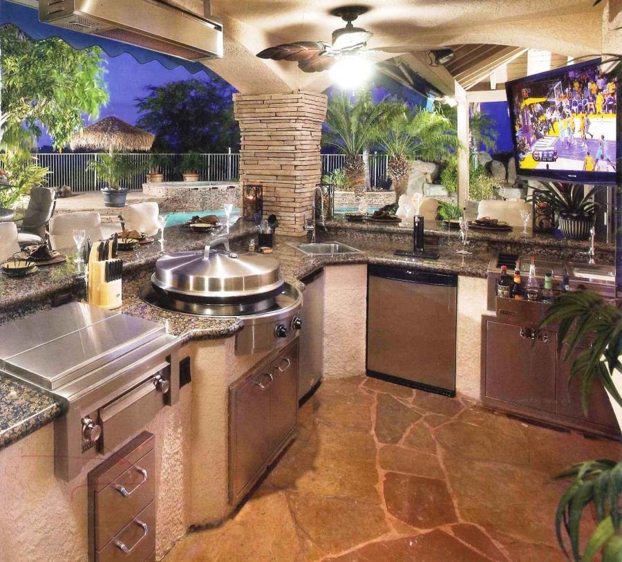 Outdoor Kitchen Design Photo Gallery