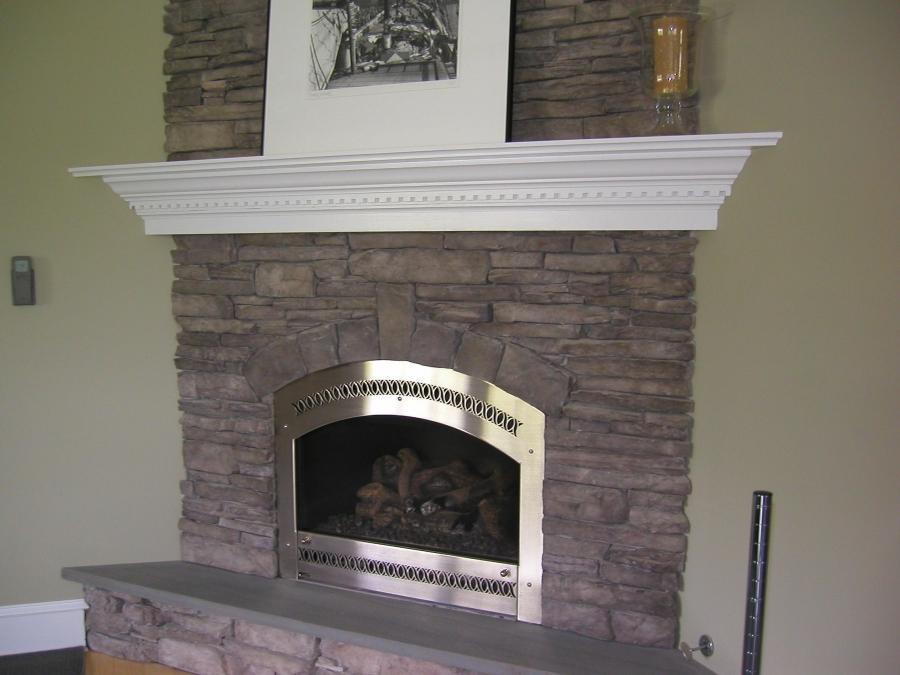 Kolby Construction Charlotte: Fireplace Renovation Photos