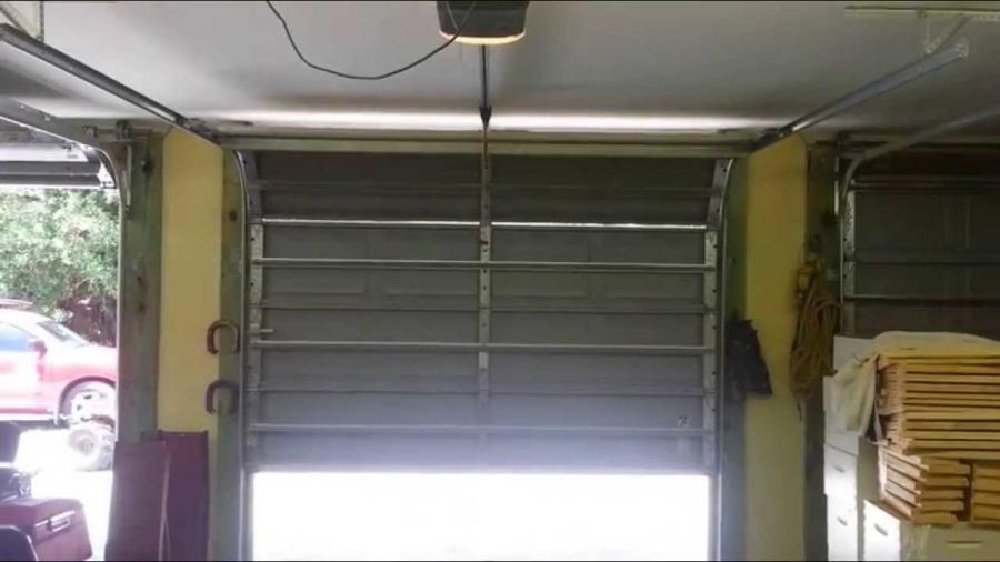 Override Garage Door Photo Eye