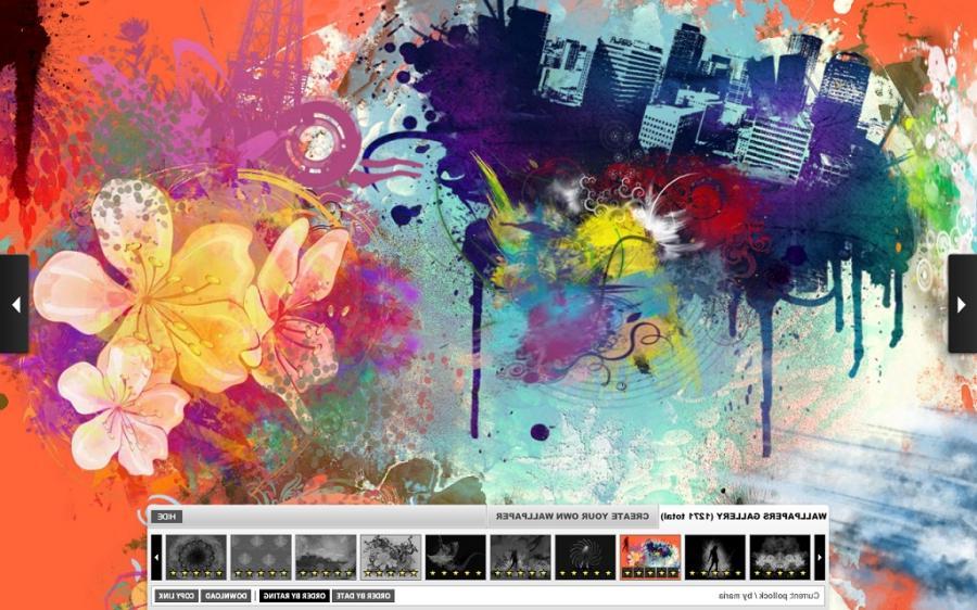 Create Your Own Desktop Wallpaper