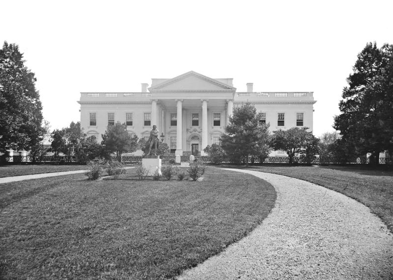 Photos Of The White House In 1800