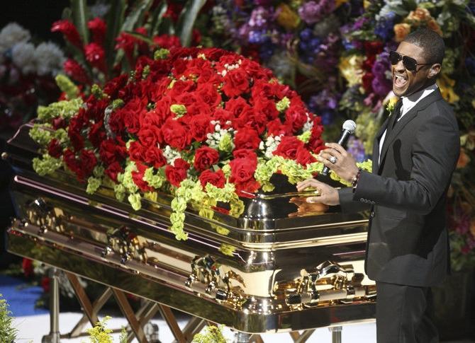 black celebrity death in