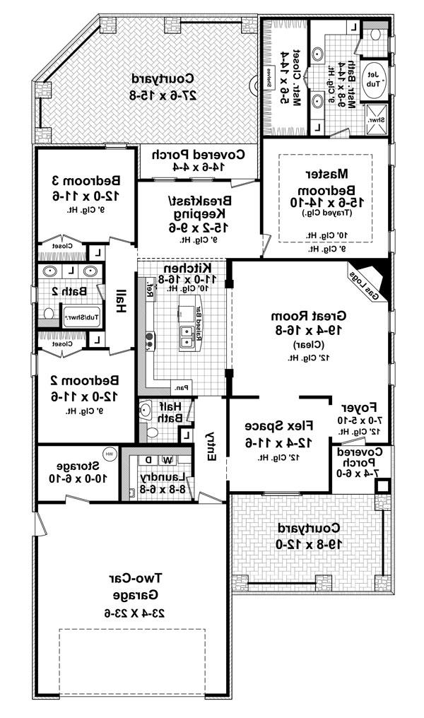 Cottage House Plans 2000 Sq Ft 28 Images House Plans