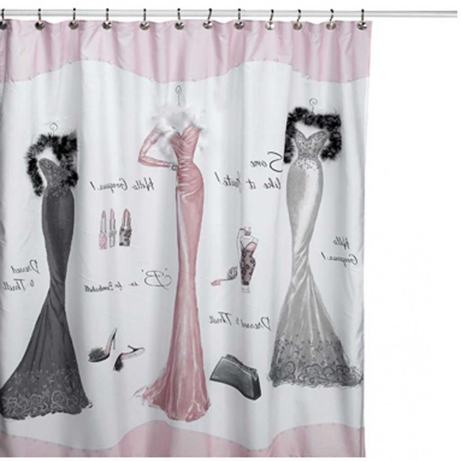 6 Fantastic Dressed To Thrill Shower Curtain
