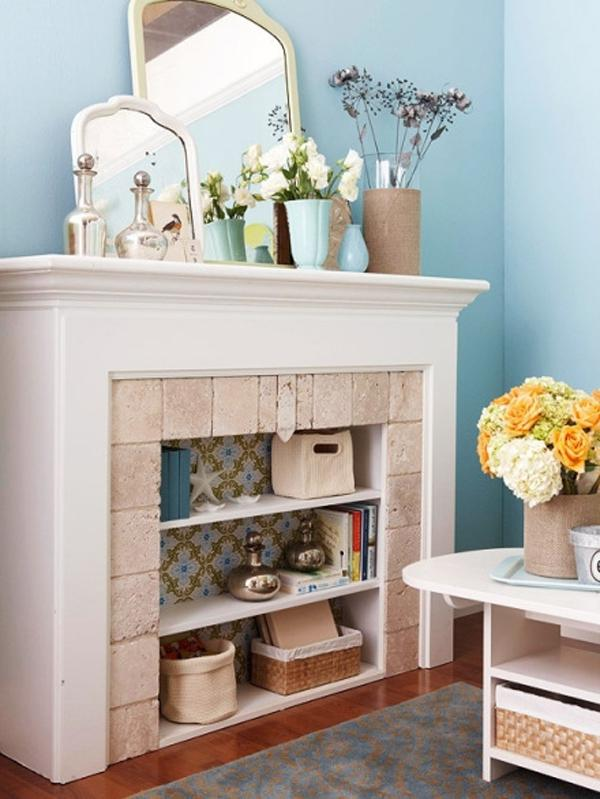 Decorating Fireplaces Photos