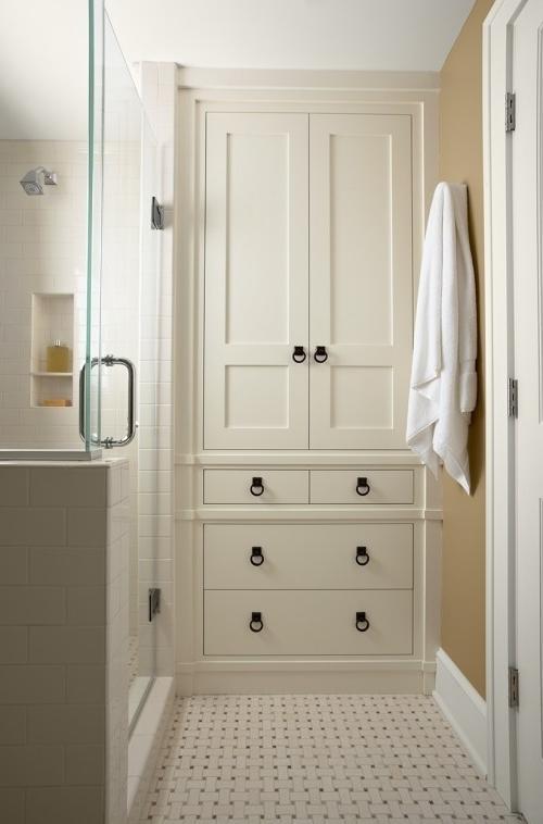 how to build a linen closet