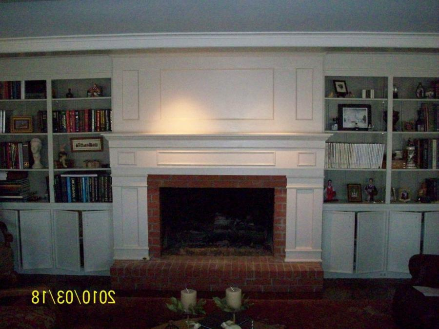 Fireplace renovation photos for Fireplace renovations before and after