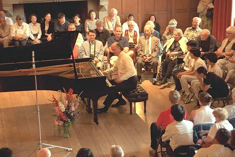 25th-anniversary recital as Caltech Pianist in Residence