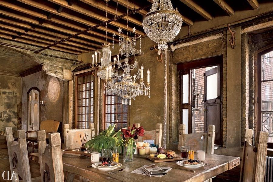 Gerard Butler S Home In Manhattan New York