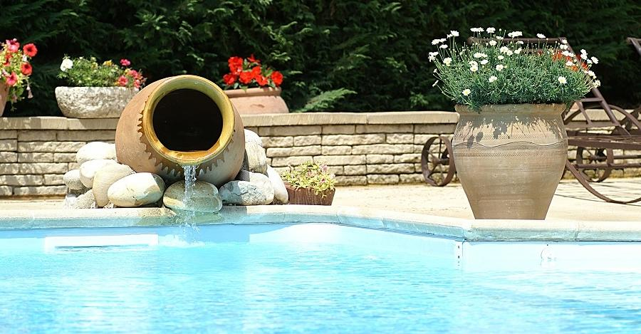 Photo decoration piscine exterieur for Amenager sa piscine