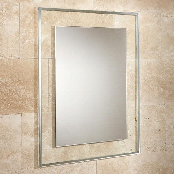 Mirrored Glass Photo Frame