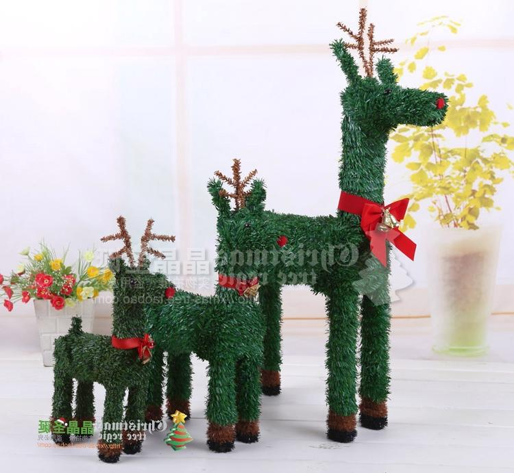 2014 new year decorations Christmas supplies elk christmas tree...