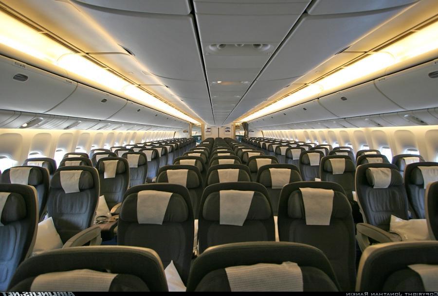 Boeing 777 interior photo for Boeing 777 interior