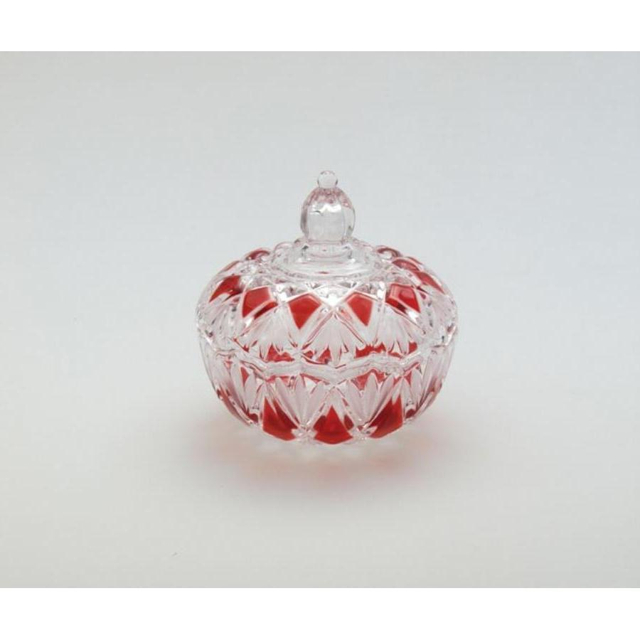 ... Glass Ruby Saturn Lidded Bowl 40th Ruby Anniversary... source