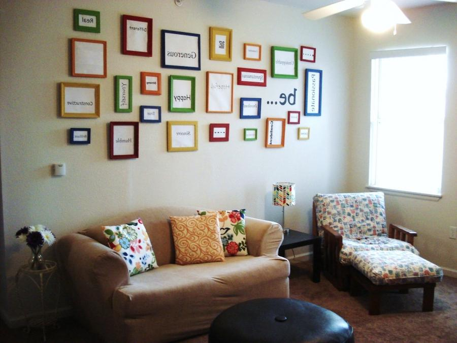 Living Room Photo Collage Ideas