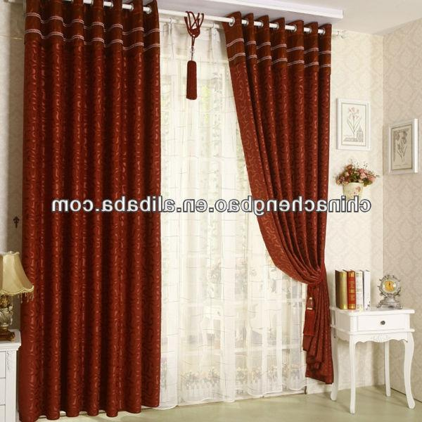 curtain design for bedroom, View curtain design for hall, TOMBAO...