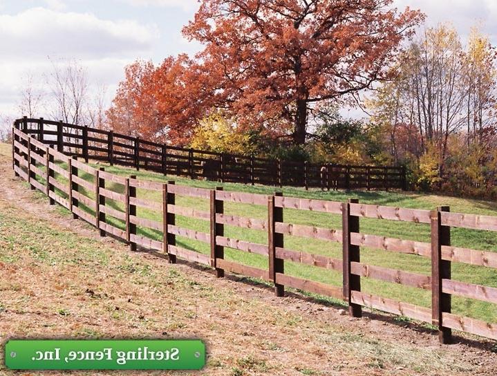 Horse Fence Photo