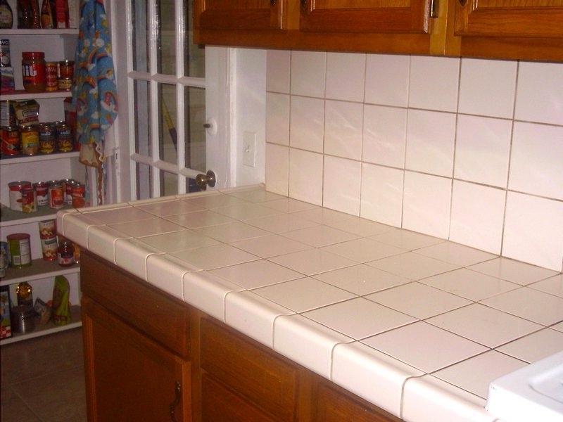 Ceramic Tile Countertops Photos