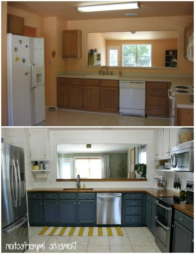 Kitchen remodeling on a budget photos for Kitchen remodels on a budget photos